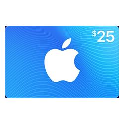 آیتونز کارت 25 دلاری